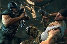 A screenshot from Bethesda Softworks' recently-released game Brink.