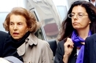 A 2007 photo of Liliane Bettencourt (L) and her daughter Francoise Bettencourt-Meyers (R). Photo / AFP