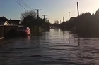 Streets have been flooded in Avondale and silt has risen to the surface in Merivale and other suburbs following the 5.5 magnitude earthquake and recent aftershocks.