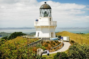 Those making the trip to the Manukau Heads Lighthouse will be rewarded with spectacular views. Photo / Greg Bowker