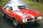 1967 Pontiac Firebird. Photo / Matt Morgan
