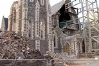 As Christchurch struggles to recover from the latest round of earthquakes, the first footage from inside the city centre since Monday's powerful shocks.