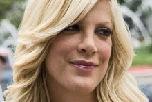 Tori Spelling crashed into the wall of her children's school saying it was a result of being chased by the paparazzi. Photo / Creative Commons by Arthur from Westchester County north of NYC, USA, at Arthur@NYCArthur.com