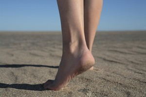 Step out of your comfort zone and take a brisk walk along the beach. Photo / Thinkstock