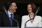 John Key and Julia Gillard have announced a new Trans-Tasman agency regulating medicines and medical interventions.  Photo / Getty Images