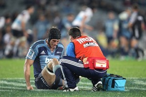 Anthony Boric will have an MRI scan today to reveal the full extent of his injury. Photo / Getty Images