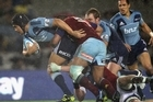 The most recent Blues vs Crusaders match was watched by more than 300,000 Kiwi TV viewers. Photo / Getty Images