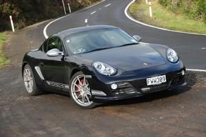 Porsche's Cayman R delivers sublime handling. Photo / Jacqui Madelin