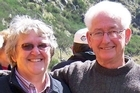 Joyce Fey and Ron Fey were hit by a truck as they tried to cross a road in Cambridge. Photo / Supplied