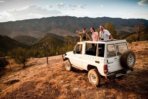 4WD ridgetop safari at Arkaba Station in the Flinders Ranges, South Australia. Photo / Supplied