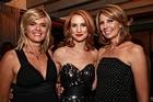 TV3's 'Nightline' trio at the Longroom. Photo / Herald on Sunday