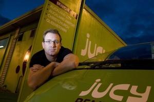 Tim Alpe of Jucy Rentals. Photo / Richard Robinson
