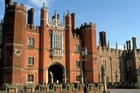 Hampton Court Palace will be the start-finish point for road cycling. Photo / British Tourist Authority