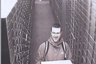 Matthew Frewer was filmed by a security camera in a bank safety deposit vault with a box of drug money. Photo / Supplied