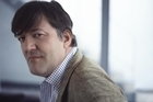 British actor Stephen Fry. Photo / Supplied