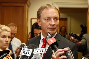 Phil Goff argues that a 'specific' mandate should be obtained for each privatisation. Photo / Mark Mitchell