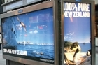 The 100 per cent Pure New Zealand campaign, seen here in New York, is under scrutiny. Photo / Supplied