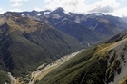 A truck driver died this week in the rough roads near Arthur's Pass village and Otira Gorge. File photo / Simon Baker