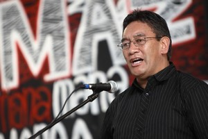 Hone Harawira. Photo / Herald on Sunday