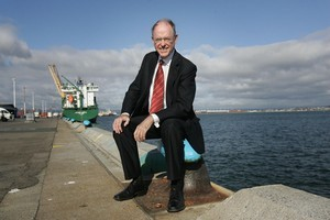 Don Brash proposed dropping the minimum wage to halt the exodus to Australia. Photo / APN