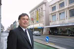 Canterbury Employers' Chamber of Commerce chief executive Peter Townsend. Photo / APN