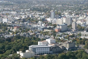 The government announced plans for the future of areas of Christchurch today. Photo / File