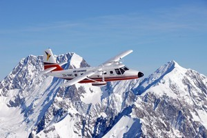Aerial views of the Alps put their grandeur in perspective. Photo / Air Safaris