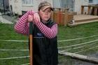 For Bexley resident Kim Monaghan, last week's aftershocks were the last straw. Photo / David Alexander