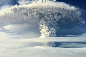 The latest ash cloud from the erupting Puyehue-Cordon Caulle volcano in Chile is expected to arrive in New Zealand skies tomorrow. Photo / supplied