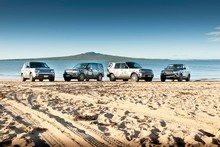 Land Rover will count down to the RWC by taking the Webb Ellis Cup to all 23 of the host regions in New Zealand. Photo / Supplied