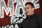 Hone Harawira's last day of campaigning and reactions from the public.