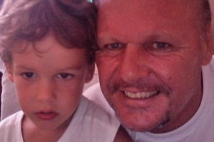 Bruce Laybourn has dedicated his life to getting back his 4-year-old son, Dylan. Photo / Supplied