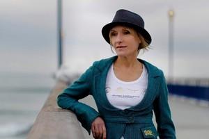 Berlin-based NZ writer Sarah Quigley. Photo / Martin Hunter