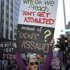 Protestors at the SlutWalk Aotearoa in Auckland. Photo / Michael Craig