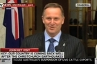 Prime Minister John Key challenges his Australian counterpart Julia Gillard to a friendly wager over the outcome of the Rugby World Cup.