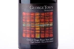 George Town Vineyard Single Vineyard Central Otago Pinot Noir 2009 $42.20. Photo / Babiche Martens