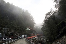 A high cash bid could see the Pike River mine sold without a body recovery plan in place. Photo / Iain McGregor 