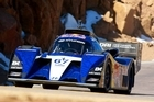 Rhys Millen came second at this year's Pikes Peak International Hillclimb.