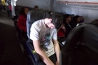 The Jetstar passenger who relieved himself in the aisle mid-flight. Photo / Supplied