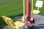 Shepherds Park offers fitness equipment. Photo / Supplied