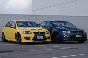 Holden HSV and FPV GT. Photo / Supplied