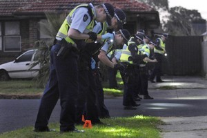 Police have sent more patrols into Melbourne's northern  suburbs in an effort to control the families at war. Photo / Herald Sun