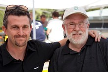 Sean and Mike Spratt of Destiny Wines. Photo / Bob Campbell