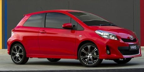 Toyota's 2012 Yaris. Photo / Supplied