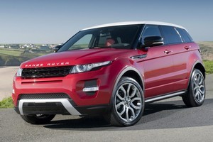 Range Rover Evoque five-door, two-tone with sparkle finish 20-inch alloys. Photo / Supplied