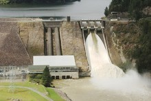 The Matahina Dam. Photo / Northern Advocate