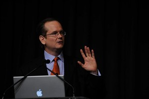 American law professor and author Lawrence Lessig. File photo / tecklesphoto.com