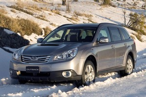 The Subaru Outback is an all-wheel-drive. Photo / Supplied