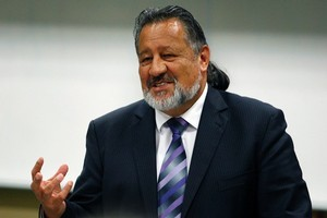 Maori Party co-leader Pita Sharples today dismissed Labour's chances of winning all the Maori seats. File photo / Sarah Ivey