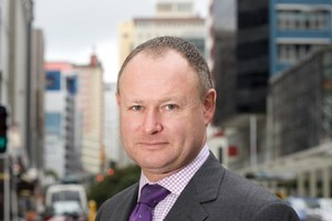 Sean Hughes, head of the Financial Markets Authority, in Wellington. Photo / Mark Mitchell